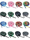 16 Pairs Rainbow Shoelace Flat Colorful Sneaker Shoelaces Wide Printed Pattern Shoelace for Shoes