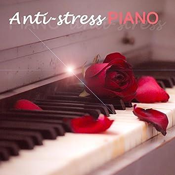 Anti-stress piano, musique de relaxation pour détente, bien-être, harmonie et sérénité.