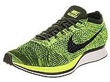 Nike Flyknit Racer, Chaussures de Running Entrainement Homme, Verde...
