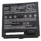 vhbw Batterie Compatible avec Bose 350160-1100, SoundDock Haut-parleurs, Enceintes (1900mAh, 14,8V, Li-ION)