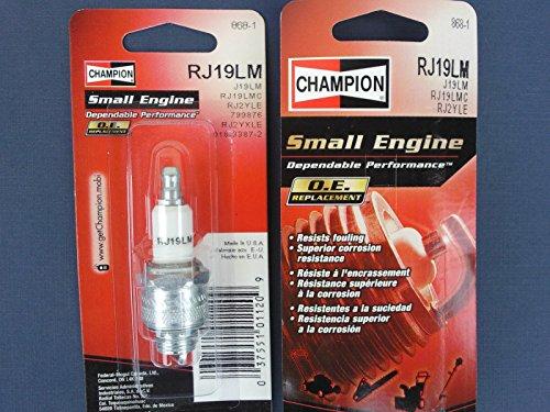 Spark Plug Champion RJ19LM  Briggs and Stratton 796112S, 499730, 492167