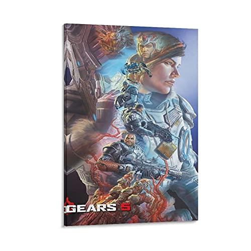 DRAGON VINES Póster de Gears of War Kait Alex Ross de 60 x 90 cm