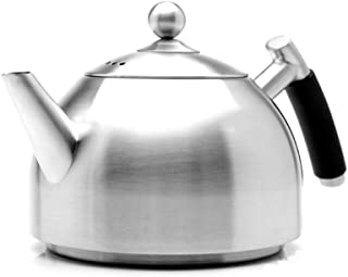 0.8L Camping Gas Kettle, Induction Hobs Gas Ceramic Stainless Steel Kettle