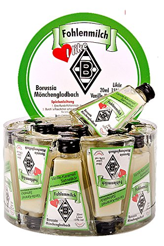 Fohlenmilch (B.Mönchengladbach) Vanille-Karamell-Sahnelikör 20 x 2 cl