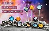 Planet Lollipops- Solar System Themed Spherical Suckers.
