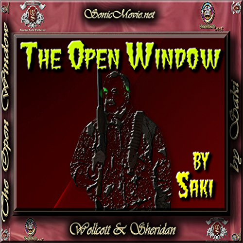 The Open Window audiobook cover art