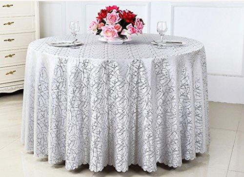 L&Y Tableware Runde Tischdecke Konferenz Tischdecke Tischdecke (größe : 320CM)