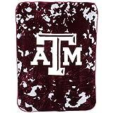 College Covers NCAA Texas A&M Aggies 63 x 86 Raschel Throw Blanket