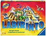 Ravensburger, Labirinto Magico, Gioco da Tavola, 2-4 Giocatori, Età Consigliata 7+, Edizione 35° Anniversario, 26447