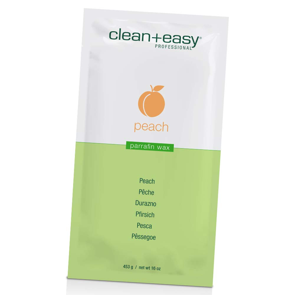 Clean + Easy Peach and Fennel 1lb Skin Max 53% OFF New Free Shipping Wax Paraffin Softener -