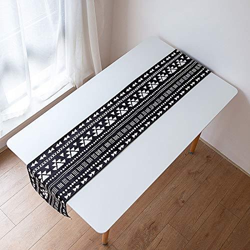 Creek Ywh Nationale windbord, van stof, modern, minimalistisch, waterdicht, TV-kast, doek, 32 x 160 cm