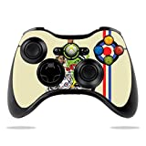 MightySkins Skin Compatible with Microsoft Xbox 360 Controller Case wrap Cover Sticker Skins Scooter Punk