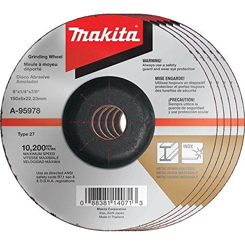 Makita 36grano Inox de la rueda de molienda, A-95978-5