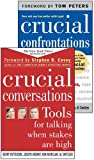 Crucial Conversations and Crucial Confrontations Value Pack by Kerry Patterson (2005-05-03)