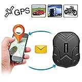 Hangang GPS Tracker, Coche Carro Vehiculo GPS Localizador de Seguimiento en Tiempo Real de 150 dias de Tiempo en Espera...