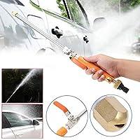 ZKS-KS 1PCS車高圧力パワーウォーターガン洗濯機は、ウォータージェットガーデンホースワンドノズルスプレー散水スプリンクラーツールスプレー (Color : Orange)