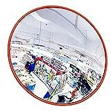 espejo convexo espejo de trafico convex mirror El tráfico exterior gran angular, espejo convexo de seguridad, espejo de ángulo ancho, cubierta for montaje en la pared, tienda de Seguridad Almacén Ofic