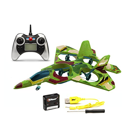 Top Race F22 Fighter Jet 4 Channel Rc...