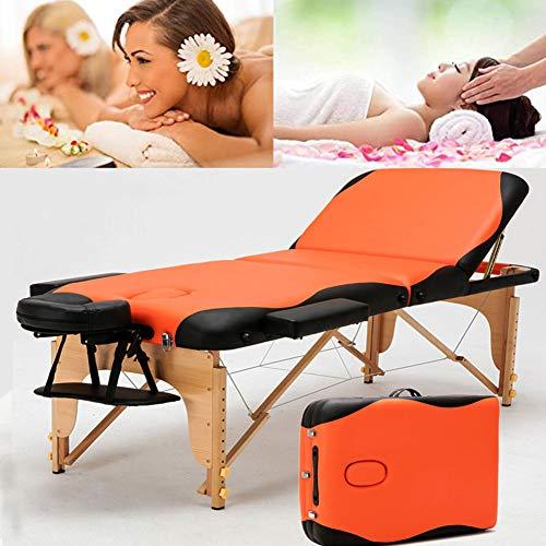 Table De Massage Pliante,table De Massage Pliante Lit Table De Beauté 3 Zones Portable Sac De...
