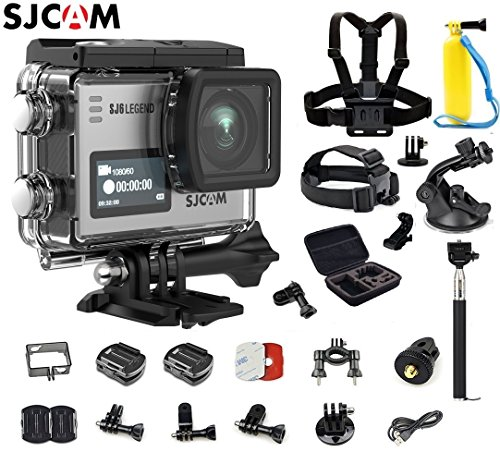 SJCAM SJ6 Kit (Including Extra Battery, 6-in-1 Accessories) SJ6 Legend Dual Screen 2? LCD Touch Screen 2880