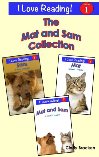 Learn to Read With Mat and Sam (A set of 3 leveled books with sight words for beginning readers)