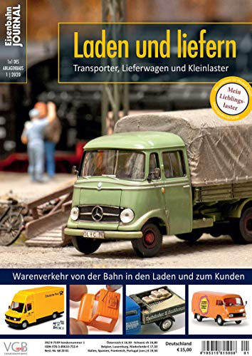 Laden und liefern - Transporter, Lieferwagen und Kleinlaster - Eisenbahn Journal - 1 x 1 des Anlagenbaus 1-2020: Transporter, Lieferwagen und Kleinlaster 1x1 des Anlagenbaus