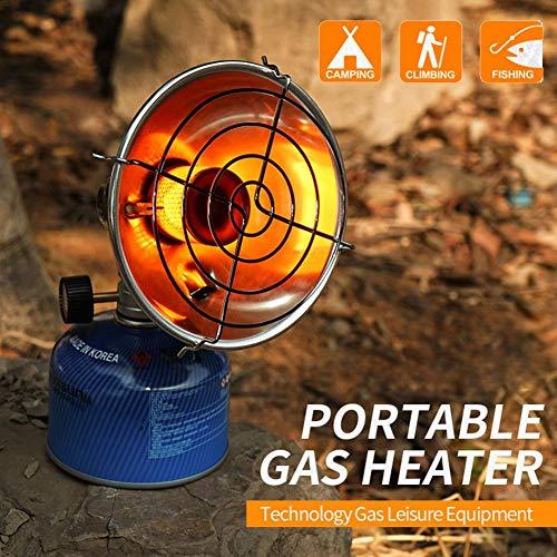TOMATION Calentadores de gas para tiendas de campaña - Calentador portátil de lámpara de gas pequeña para acampar al aire libre, Calentador de encendido electrónico para actividades al aire libre good