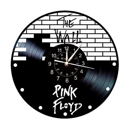 L'horloge murale vinyle Pink Floyd The Wall