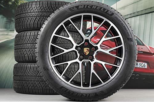 Producto nuevo. Porsche Macan 95B.1 20' RS Spyder - Bicicleta de invierno, color negro