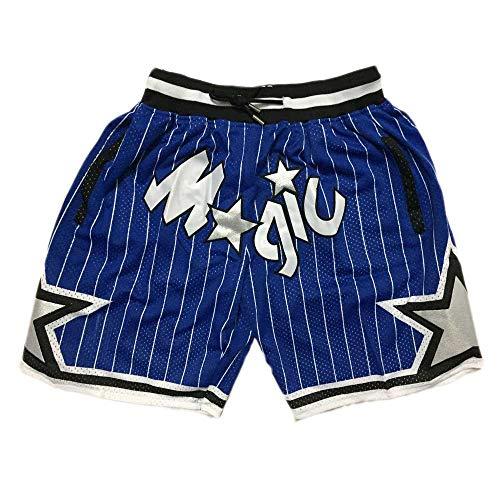 U/A Magic 76ers Celtics Basketball Shorts Swingman Jersey Men's Loose Embroidered Sweatpants