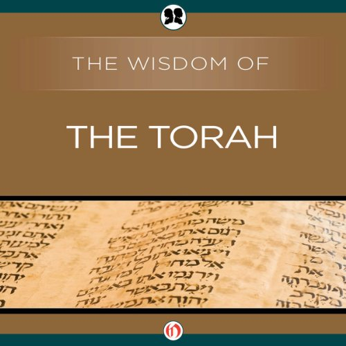 Wisdom of the Torah audiobook cover art