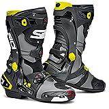 SIDI / シディ レース ブーツ Rex グレー・ブラック・イエローフルオサイズ:42   52460-42-125