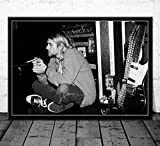 QINGRENJIE Kurt Cobain Kunst Poster Nirvana Band Musik
