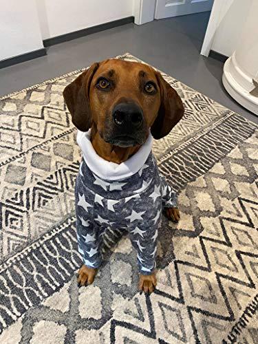 Rhodesian Ridgeback, Pullover Pyjama Handmade Schlafanzug Hundemantel Hundepullover (65-70)