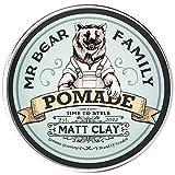 Mr Bear Family Pomada Matt Clay Mr Bear 100ml, Único, 100 ml,...