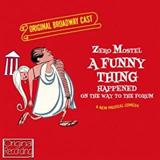 Funny Thing Happened on Way to Forum Original Broadway Cast