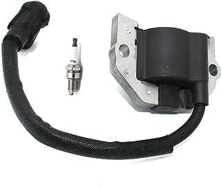 P SeekPro Ignition Coil with Spark Plug F7TC for Kawasaki FH601V FH721V FH641V FH680V FH661V Parts# 21171-0745 21171-0742 21171-0713 52005-2139 21171-7049