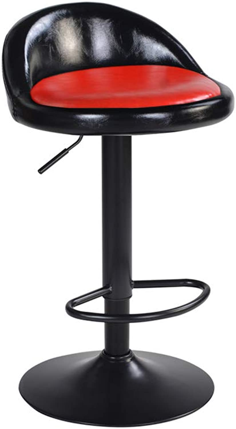 QY Y-38 Bar Chair Chair Lift Barstool Backrest Chair Household redatable Modern Minimalist Multi-color Optional
