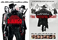 The Hateful Eight & Django Western Action DVD Quentin Tarantino Collection