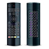 [Updated] FeBite MX3 Pro 2.4G Kodi Remote with Backlit Mini Wireless...