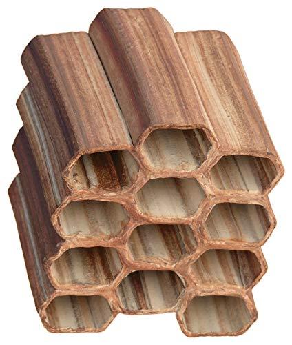 Aquanetta Matrix de 12 tuyaux hexagonaux 3x4 Une rangée saillante. Fait Main