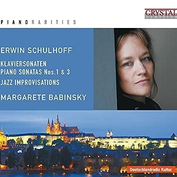 Piano Rarities: Schulhoff