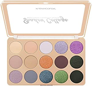 (6 Pack) KLEANCOLOR Shadow Collage Multi Finish Eyeshadow Palette - Fusion (並行輸入品)