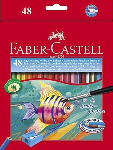 Faber-Castell 114448 Matita Colorata, 48 Pezzi