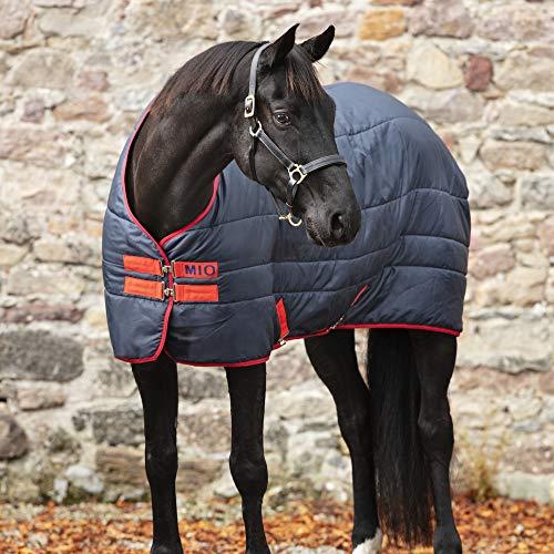 Horseware Mio Isolator 150g Stall Pferdeteppich 145cm Navy/Red