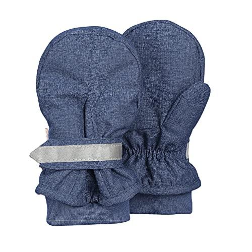 Sterntaler Baby-Jungen Fäustel Handschuhe, Blau, 2