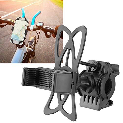 Soporte para teléfono, Soporte para teléfono para Bicicleta con rotación de 360 Grados para teléfonos móviles con un Ancho de 50 mm a 100 mm para Ciclistas al Aire Libre