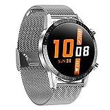 L13 Sports Smart Watch, Ritmo Cardíaco A Prueba De Agua Monitoreo De La Salud del Sueño Recordatorio De Llamadas Rastreador De Fitness para Hombres para Android iOS,D