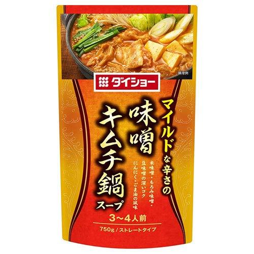 ダイショー 味噌キムチ鍋スープ 750g×10袋入×(2ケース)