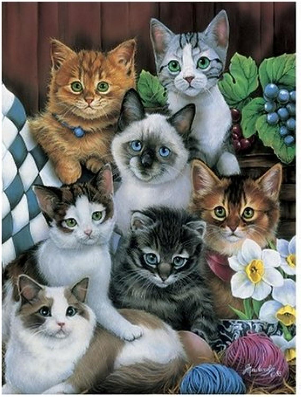 Master Pieces Cuddly Kittens by Jenny Newland 750 Piece Jigsaw Puzzle